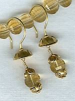 Citrine earrings FAC1315