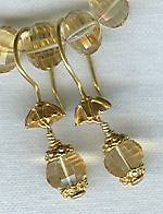Citrine earrings FAC1317