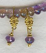 Faceted Ametrine earrings FAC1141