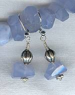 Chalcedony earrings NUG2148