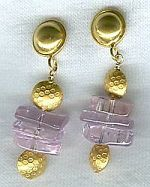 AAA Quality Kunzite Earrings CC6015