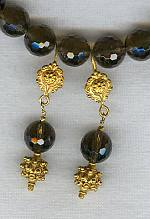 Smokey Quartz earrings FAC1220