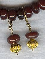 Carnelian earrings NUG2181