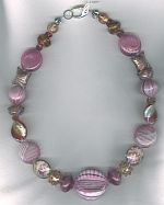 Murano Venetian glass necklace VEN4329