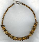Tiger Eye and Citrine necklace FAC1928