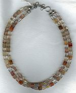 Rutilated Quartz  necklace FAC1942
