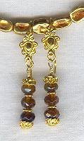 Amber Tourmaline Earrings FAC1263