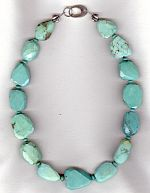Sleeping Beauty Turquoise necklace FAC8193