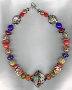 Venetian glass necklace from Murano VEN4334
