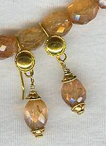 Faceted Imperial Topaz Earrings FAC1127