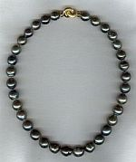Baroque Tahitian pearl necklace CC6153