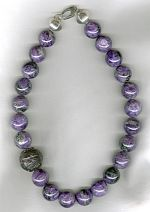 Charoite necklace CC6214