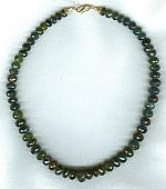 Tourmaline rondel necklace FAC1608