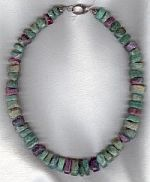Pariba Tourmaline polished nugget necklace CC6113