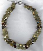 Grossular Garnet briolette necklace FAC1829