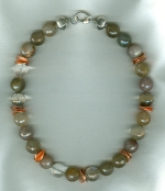 Rutilated Quartz necklace FAC8042