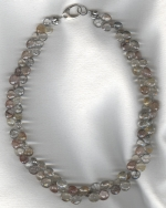 Rutilated Quartz briolette necklace FAC8058