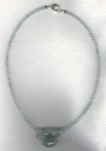 Aquamarine necklace FAC8059