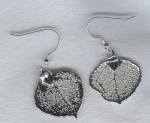 Silver Leaf earrings FAC8065