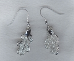 Silver Leaf earrings FAC8066
