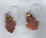 Copper Leaf earrings FAC8068