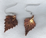 Copper Leaf earrings FAC8069