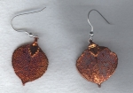 Copper Leaf earrings FAC8070