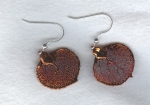 Copper Leaf earrings FAC8072