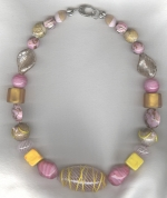 Murano Venetian glass necklace VEN4275