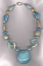 Murano Venetian glass necklace VEN4278
