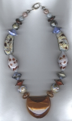 Murano Venetian glass necklace VEN4279