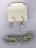 SPECIAL PURCHASE!! Freshwater seed pearl earrings PRL3206