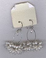 SPECIAL PURCHASE!! Freshwater seed pearl earrings PRL3208