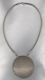 Sterling silver necklace FAC8199