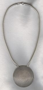 Sterling silver necklace FAC8200
