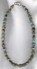 Turquoise necklace FAC8201
