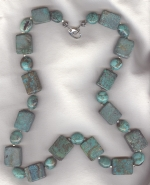 Chinese Turquoise necklace NUG2750