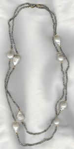 Freshwater pearl necklace PRL3246
