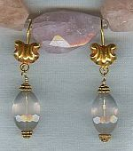 Rose Quartz earrings CC6097