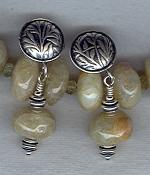 Beryl rondel earrings FAC1865