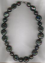 Red yellow blue green blown Venetian glass Necklace VEN4183
