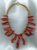 Large branch Coral Necklace CC6098