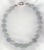 Aquamarine necklace NUG2752