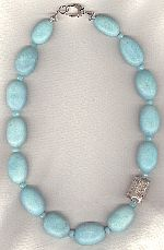 Brazilian Amazonite nugget Necklace NUG2770