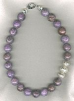 AA quality Charoite Necklace NUG2772