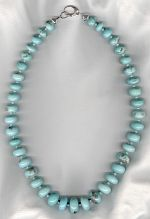 Turquoise necklace CC6233