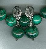 Malachite earrings FAC1699