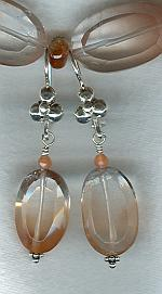 Hematoid Quartz earrings FAC1706