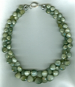 Cat's Eye Quartz briolette necklace CC6185