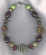 Venetian glass necklace VEN4303
